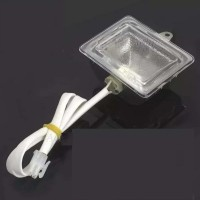 WGB-2 G9 G4 China oem ulrectangular BBQ T550 steamer lamp, high temperature resistance oven lamp